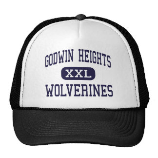 Godwin Heights - Wolverines - High - Wyoming Trucker Hat