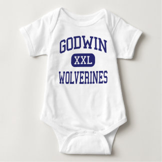 Godwin Wolverines Middle Wyoming Michigan Baby Bodysuit