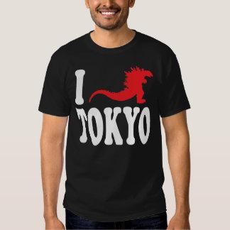 """Godzilla ama camiseta de Tokio"" Camisas"