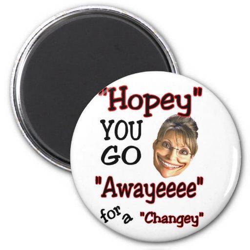 goeee away magnet