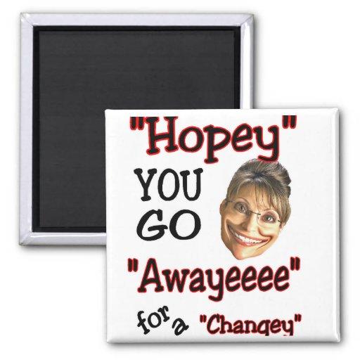 goeee away refrigerator magnet