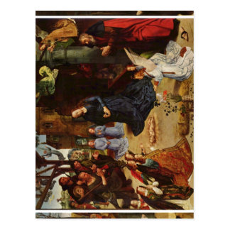 Goes, Hugo van der Portinari-Altar, Gesamtansicht  Postcard
