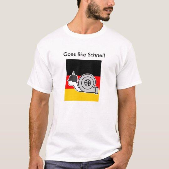 Goes like Schnell 2.0- BrightStorm original design T-Shirt