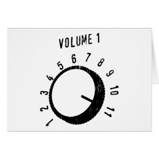 Goes to Eleven Greeting Cards
