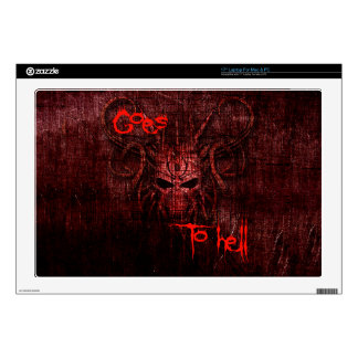 Goes to hell decals for laptops