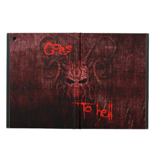 Goes to hell iPad air cover