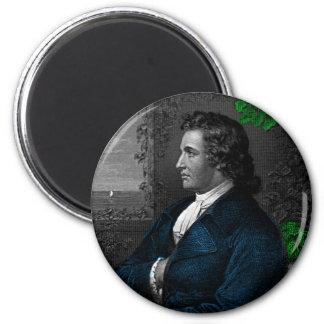 Goethe 2 Inch Round Magnet