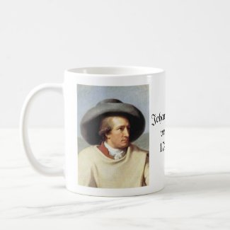 Goethe and Faust Poster Coffee Mug
