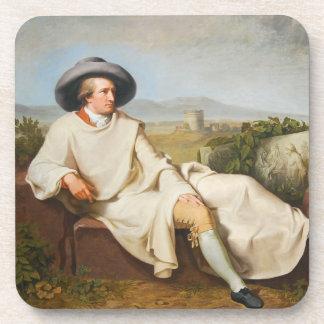 Goethe en la Campaña romana por Tischbein 1787 Posavasos De Bebida