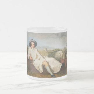 Goethe en la Campaña romana por Tischbein 1787 Taza De Café