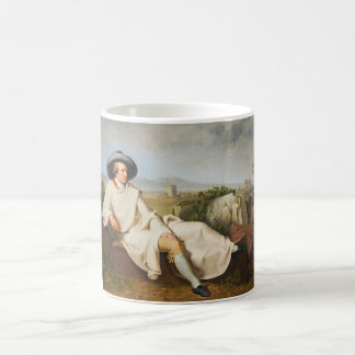 Goethe in the Roman Campagna by Tischbein 1787 Coffee Mug