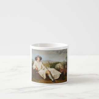 Goethe in the Roman Campagna by Tischbein 1787 Espresso Cup