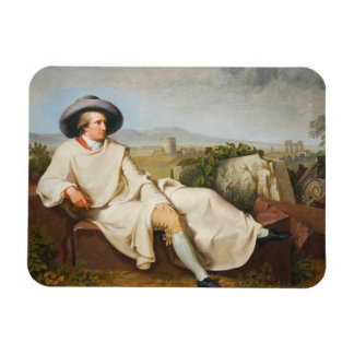 Goethe in the Roman Campagna by Tischbein 1787 Magnet