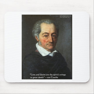 Goethe Love/Desire Graphic & Quote Gifts Tees Etc Mouse Pad