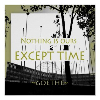 Goethe : : Motivational Quotes Posters print
