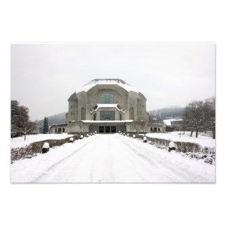Goetheanum Dornach Basel Switzerland Art Photo