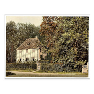 Goethe's House, Weimar, Thuringia, Germany classic Postcard