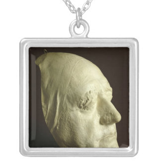 Goethe's Mask, 1807 Silver Plated Necklace