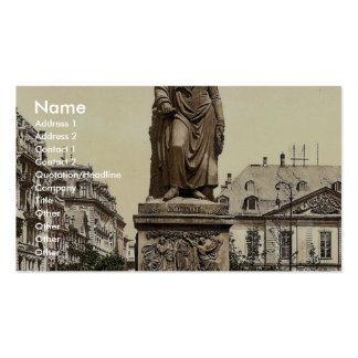 Goethe's Monument, Frankfort on Main (i.e. Frankfu Business Card Templates