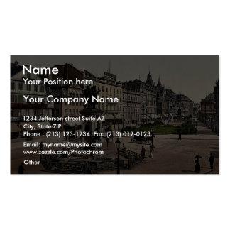 Goethe's Place and Goethe-Gutenburg Monument, Fran Business Card