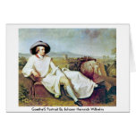 Goethe'S Portrait By Johann Heinrich Wilhelm Greeting Cards