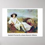 Goethe'S Portrait By Johann Heinrich Wilhelm Posters