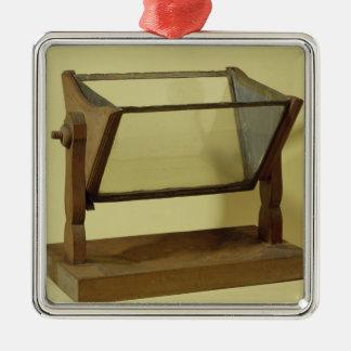 Goethe's Water Prism Metal Ornament