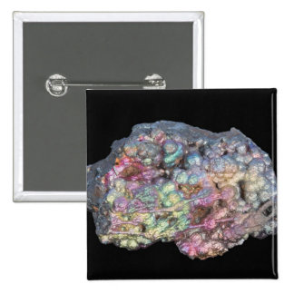 Goethite Showing Iridescence Pinback Button