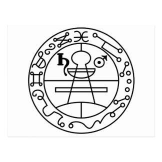 Goetia Seal of Solomon Postcard
