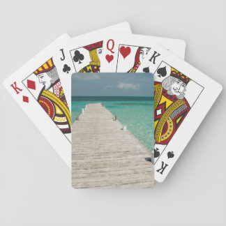 Goff Caye, a popular Barrier Reef Island Playing Cards
