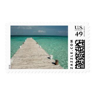 Goff Caye, a popular Barrier Reef Island Postage