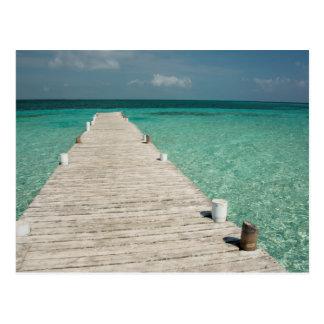 Goff Caye, a popular Barrier Reef Island Postcard