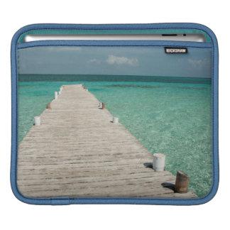 Goff Caye, a popular Barrier Reef Island Sleeve For iPads