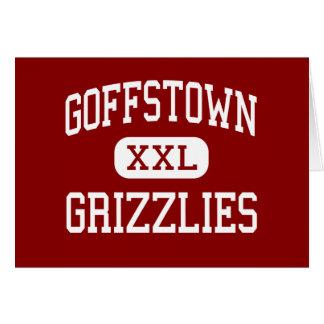 Goffstown - Grizzlies - Area - Goffstown Greeting Card