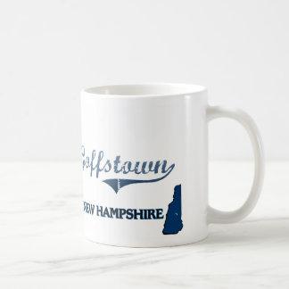 Goffstown New Hampshire City Classic Classic White Coffee Mug