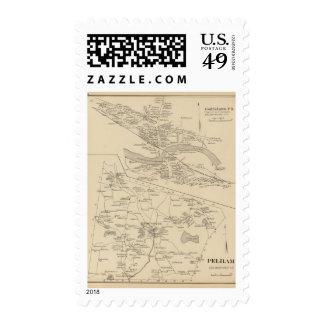 Goffstown PO, Pelham Stamp