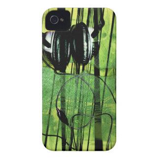 Gog que escucha de Geen Case-Mate iPhone 4 Cárcasas