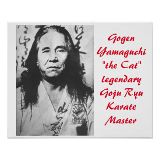 "Gogen ""the Cat"" Yamaguchi Poster"