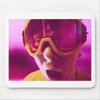 Goggles, Snowboarding Goggles Mouse Pad