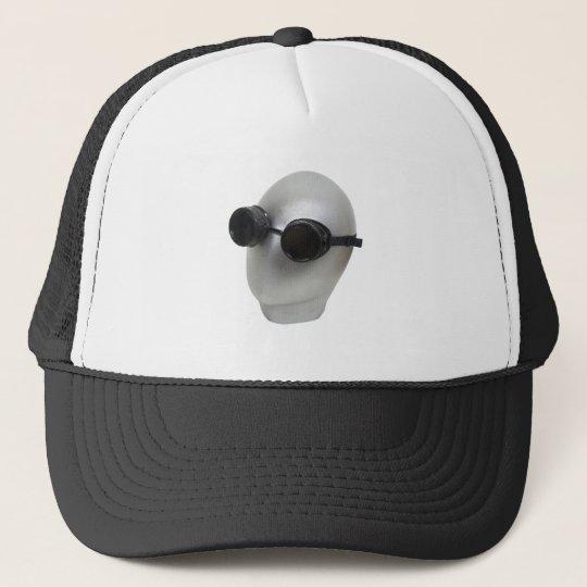 GogglesBlankFace073109 Trucker Hat