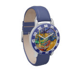 Gogh Boats Saintes Marie Destiny Peace Love Wrist Watch