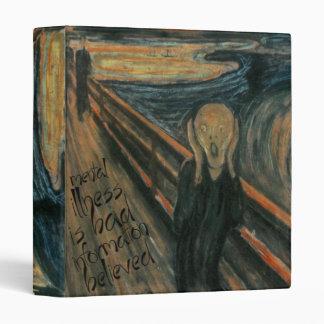 Gogh Mental Remake: The Scream by Edvard Munch Binders
