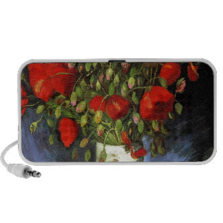 Gogh Red Poppies Flowers Spring Love Peace Destiny iPhone Speaker