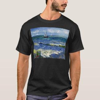 Gogh Seascape near Les Saintes-Maries-de-la-Mer T-Shirt