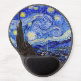 "Gogh, ""Starry Night"" Gel Mouse Pad"