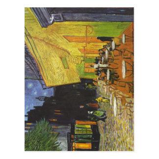 Gogh Vincent van Caf terasse bei Nacht Cafe Terra Post Cards