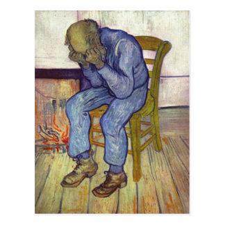 Gogh, Vincent Willem van An der Schwelle der Ewigk Postcard
