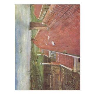 Gogh, Vincent Willem van D?cher, Blick von oberhal Postcard