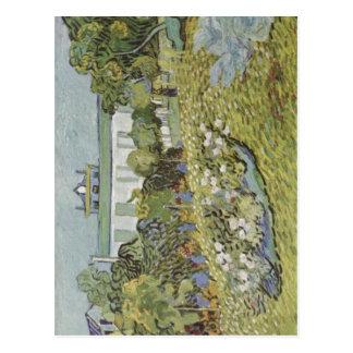 Gogh, Vincent Willem van Der Garten Daubignys 1890 Postcard