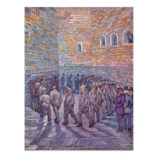 Gogh, Vincent Willem van Prisoners Exercising (Aft Postcard